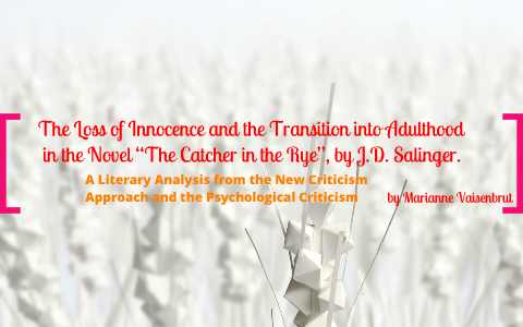 catcher in the rye allie innocence quotes