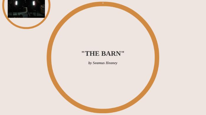 the barn seamus heaney