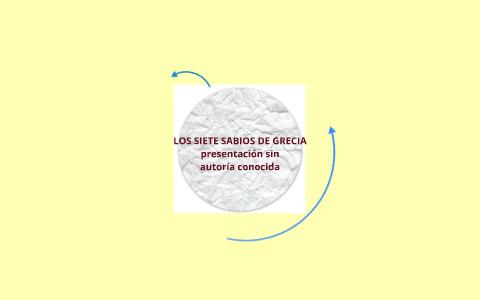 Los 7 Sabios De Grecia By Omar E Becerra V On Prezi