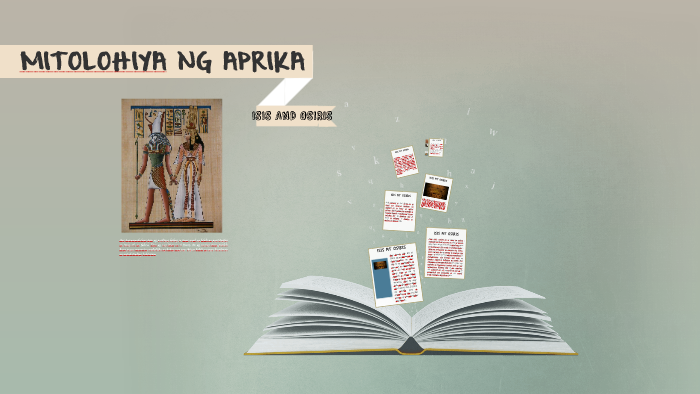 Mitolohiya sa Aprika by Brian Miles Mendeja on Prezi