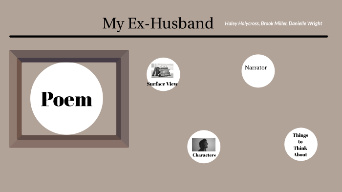My Ex-Husband by Haley Holycross on Prezi Next