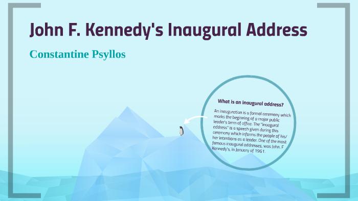 jfk inaugural address rhetorical devices