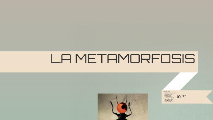La Metamorfosis By Damian Alexis Portilla On Prezi