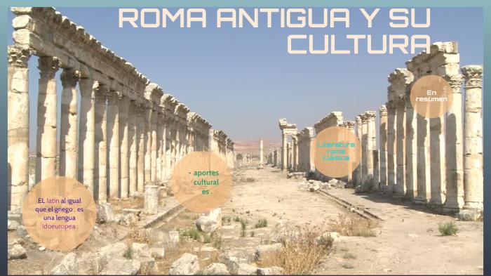 Roma Antigua Y Su Cultura By Nahomi Calderon Cajas On Prezi Next