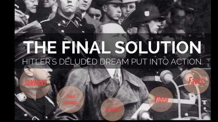 final solution summary