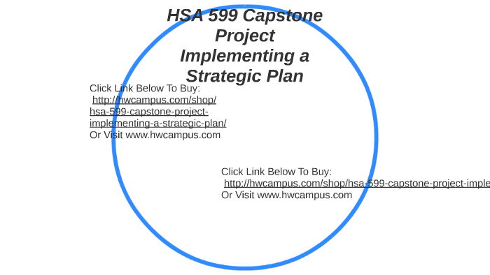 hsa 599 capstone project