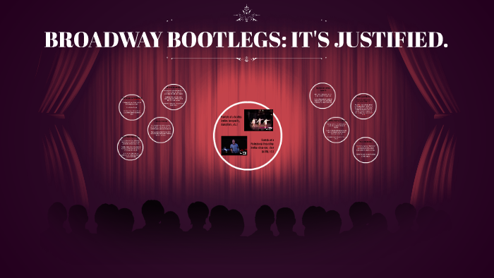 BROADWAY BOOTLEGS: IT'