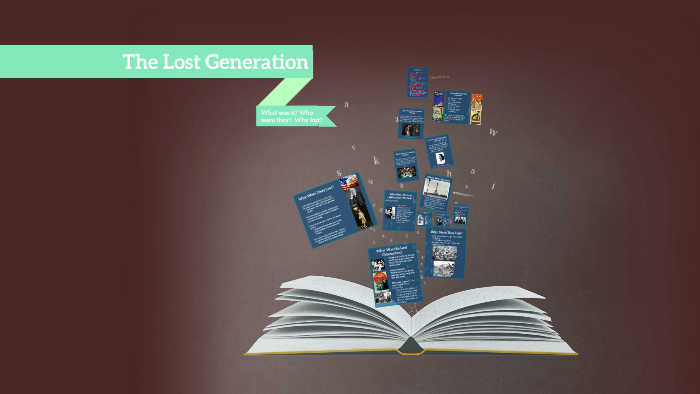 who were the lost generation