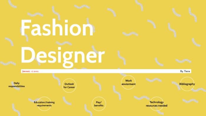 Fashion Designer By Tiana Chum On Prezi Next