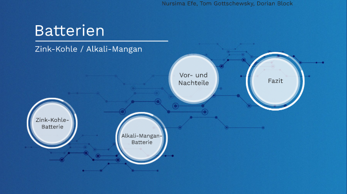 Batterien By Dorian Block On Prezi Next
