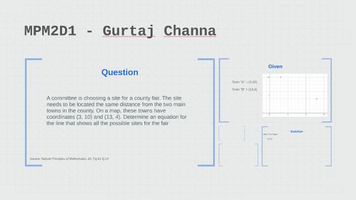 MPM2D1 - Gurtaj Channa by gurtaj channa on Prezi