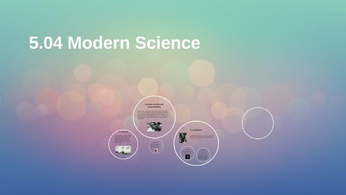 scientific renaissance