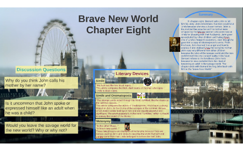 literary devices in brave new world