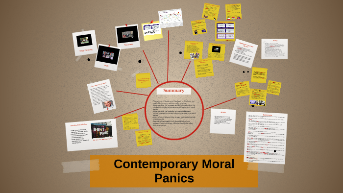 types of moral panic
