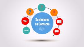 Sociedades En Contacto By Marvin Cordero