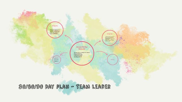 30/60/90 Day plan - Team leader