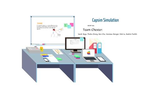 Capsim Simulation by Roshni P on Prezi