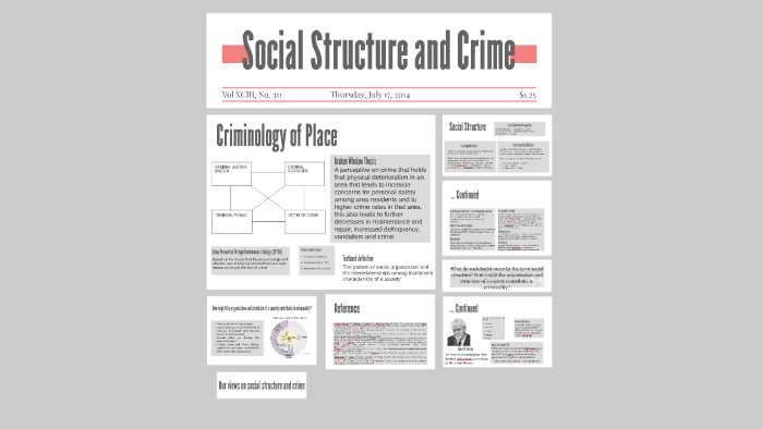 social structure and crime