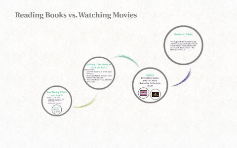 Reading Books vs  Watching Movies by Emily Thompson on Prezi