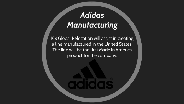 online retailer 6968c d7d91 Adidas Manufacturing by devon oleary on Prezi