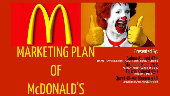 mcdonalds promotion strategy