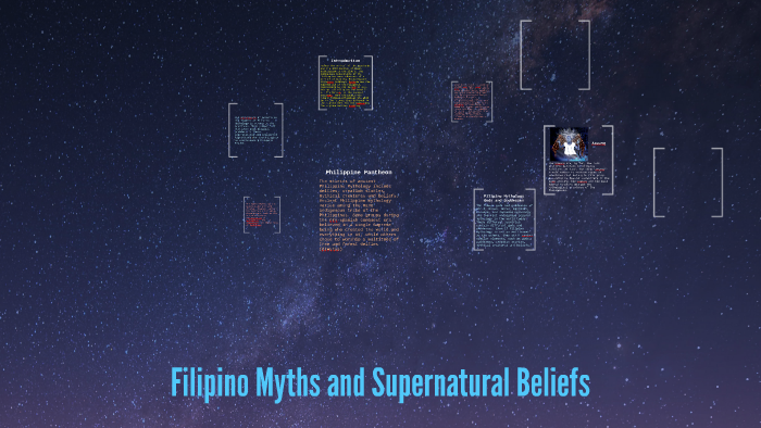 Filipino Myths and Supernatural Beliefs by Marie Chrisse