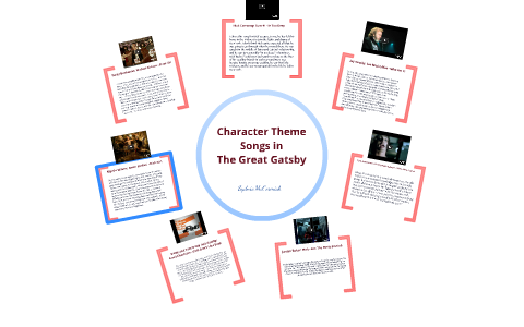 Character Theme Songs in The Great Gatsby by Sydnie