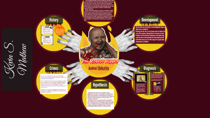 The Rostov Ripper by Kevin TheCow on Prezi