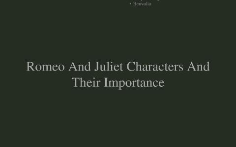 benvolio romeo and juliet character analysis
