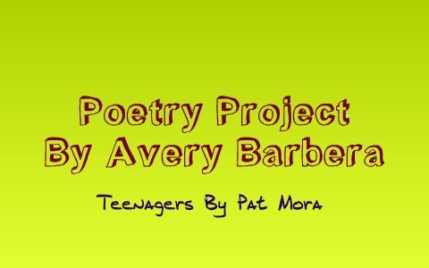elena by pat mora poem analysis