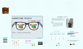 Marketing myopia myopia - berekinyaralas.hu