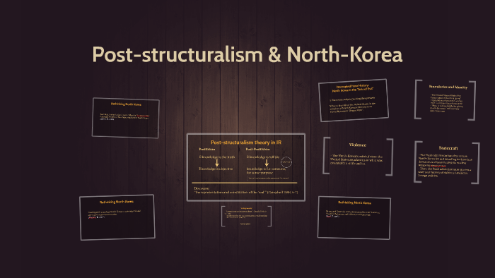 post structuralism architecture