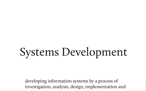 Systems Development Phases Tools And Techniques By Anne Baker