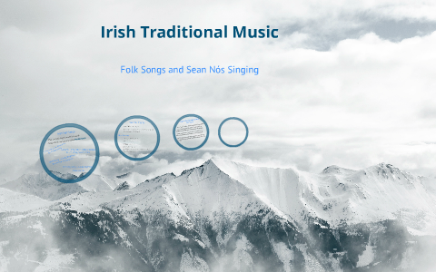 Folk Songs, Sean Nós Singing and Development of Irish Music