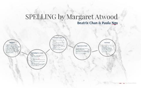 margaret atwood spelling analysis