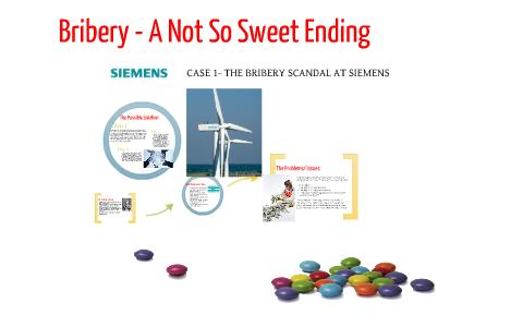 siemens bribery scandal case study answers