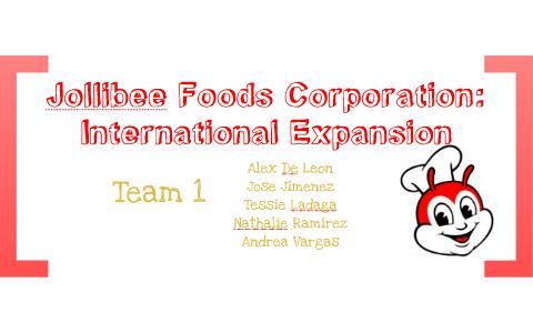 jollibee foods corporation a international expansion
