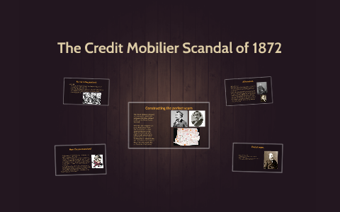 credit mobilier 1872