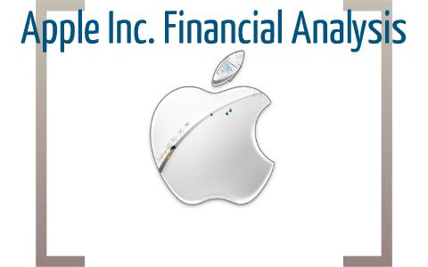 apple inc financial ratios
