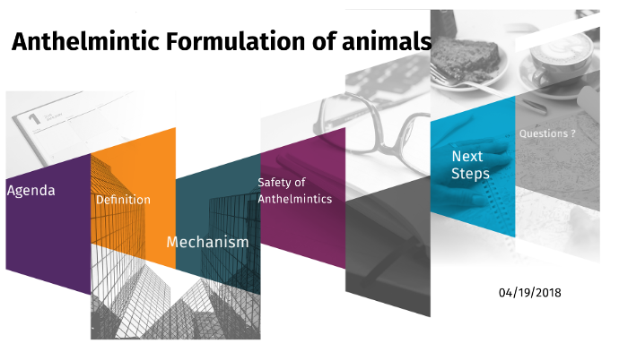 Anthelmintic process definition