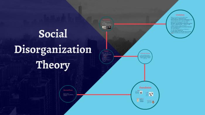 disorganization theory