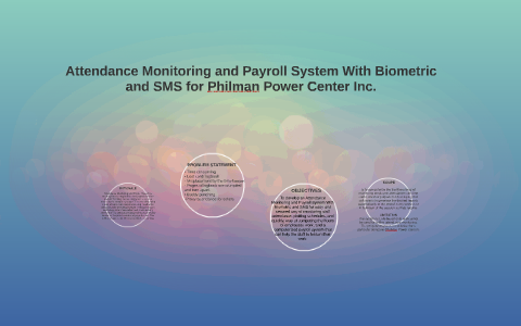 Attendance Monitoring and Payroll System With Biometric and by
