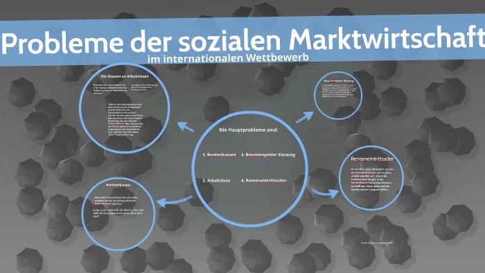 probleme der sozialen marktwirtschaft