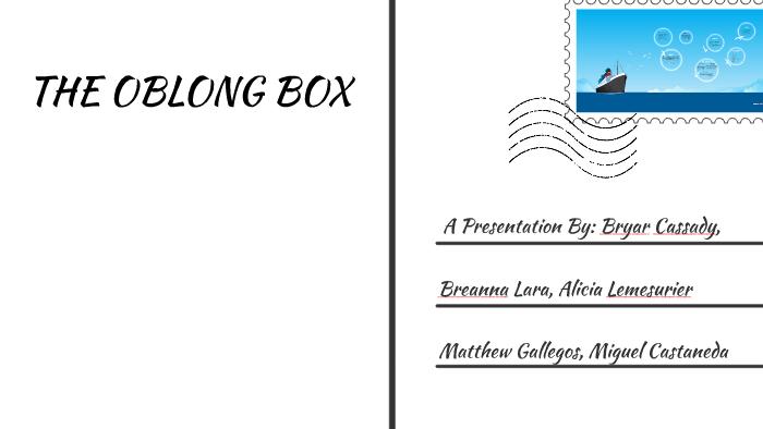 the oblong box edgar allan poe summary