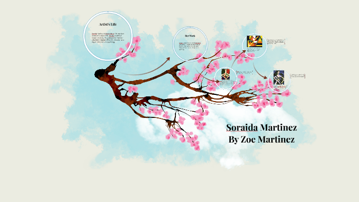 Soraida Martinez By Zoe Martinez Soraida is the only artist to write a social statement for every painting that she creates. prezi