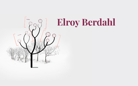 elroy berdahl