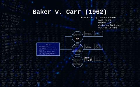 baker v carr significance