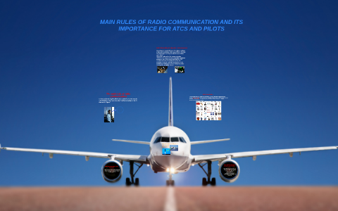 Main rules of radio communication between ATC and pilot by Алекс
