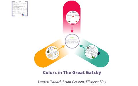 Colors In Great Gatsby By Elisheva Blas On Prezi