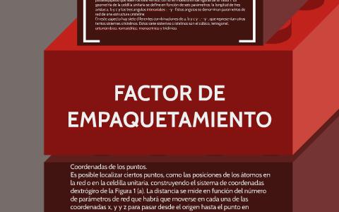 Factor De Empaquetamiento By Carlos Torres On Prezi